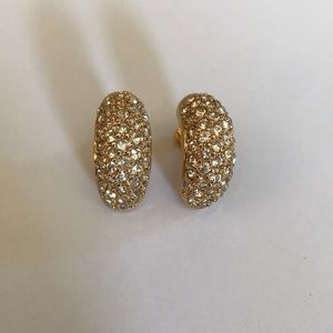 DIOR GOLD EARRINGS! GORGEOUS!